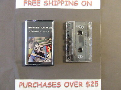 """Robert Palmer Addictions Volume I Cassette Greatest Hits """"Addicted To Love"""" 5"""