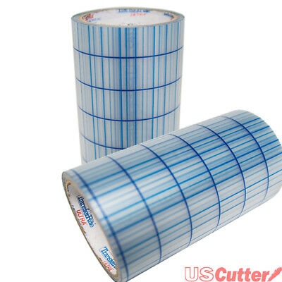 "100yd Clear Transfer Tape /Application Tape w/Grid, Medium Tack, Sizes 12"" , 24"""