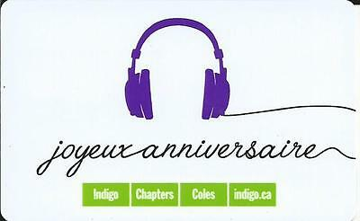 Happy Birthday Mint Gift Card From Indigo Chapters Canada Bilingual No Value
