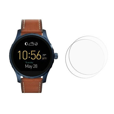 2 Clear For Fossil Q Marshal 2.0 Smartwatch Screen Protector Film Saver