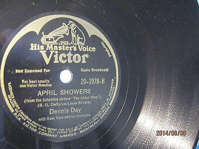 Dennis Day: April Showers/ My Song - 1946 CA - ( 1,00€ )