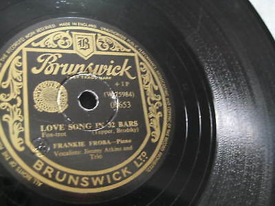 Frankie Froba w. Vocal: Love Song in 32 Bars/ Mistakes - 1951 UK ( 2,00€ )