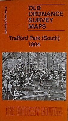 Old Ordnance Survey Maps Trafford Park South Lancashire 1904  Godfrey Edition