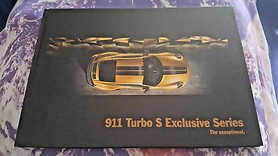 Porsche 911 Turbo S Exclusive Series 2017 Brochure - 67pgs