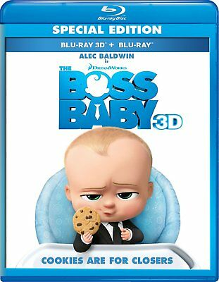The Boss Baby (3D Blu-ray Disc ONLY, 2017)