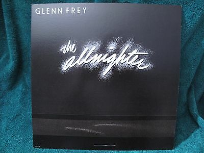 ORIGINAL VINTAGE 1984 Promo Poster Flat Glen Frey The Allnighter NMINT