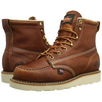 "Thorogood Mens American Heritage 6"" Moc Toe Non-safety Boot [Sz D 8-12] NEW"