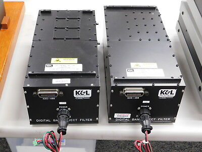K&L adjustable Frequency  Band Reject Filter Sets, 1700/2000 & 800/1000Mhz