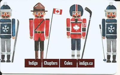 Nutcracker Mint Gift Card From Indigo Chapters Canada Bilingual No Value 2017