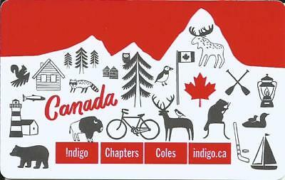 Canada Day Mint Gift Card From Indigo Chapters Canada Bilingual No Value 2017