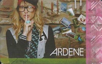 Nice Girl Mint Gift Card From Ardene Canada Bilingual # 3 No Value