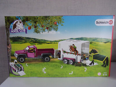PICK UP Schleich Horse Club 42346 * New Boxed * HORSE BOX