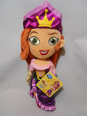 "Disney Store Plush Pirate Princess Doll, 14"", Jake and the Never Land Pirates"