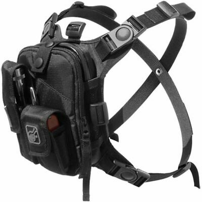Hazard 4 Covert Escape RG, Flashlight/Cycling/Camera Chest Pack: CVT-RG-ESCP-BLK
