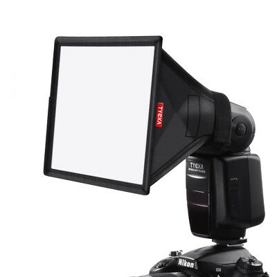 Mini Softbox Diffuser 15x13cm for DSLR Flash Speedlite Speedlight Portable TK8