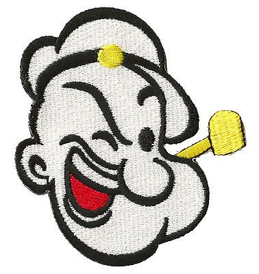 Flicken Wappen wärmeklebend Transfer Popeye der Matrose Patch Couture
