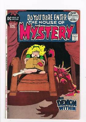 House of Mystery # 201  Mike Kaluta cover  52 pg # grade 8.0 scarce book !!