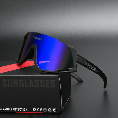 Comaxsun Professional Polarized Cycling Glasses Bicycle Sports Sunglasses 808
