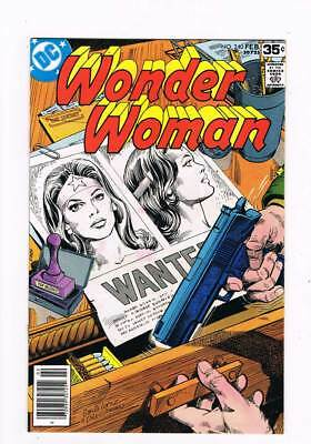 Wonder Woman # 240 Wanted: One Amazon Dead or Alive ! grade 9.0 scarce book !!