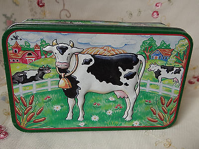 unique dairy Holstein milk cow farm country tin kitchen decor AG cattle cows