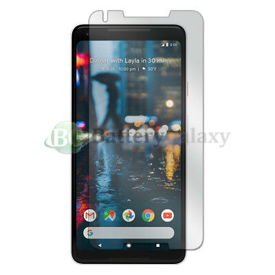 100X NEW LCD Ultra Clear HD Screen Protector for Android Phone Google Pixel 2 XL