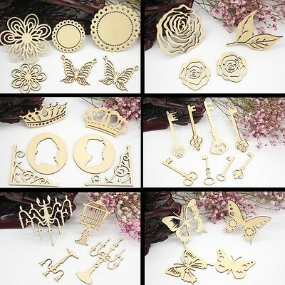 Laser Cutting Wooden Embellishments For Scrapbooking Cardmaking DIY Craft Decor