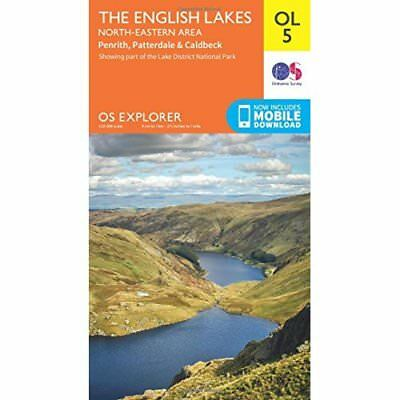 Lakes NE - OS Explorer Map OL05 (Sheet map, folded) - Sheet map, folded NEW Surv