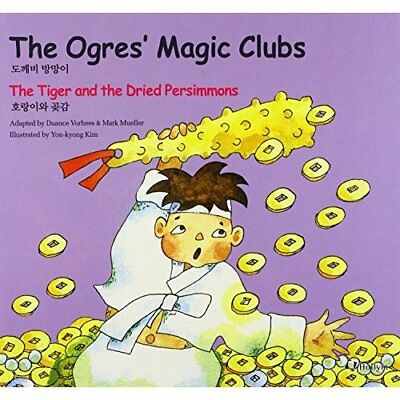 5. The Ogres's Magic Clubs / The Tiger and Dried Persim - Hardcover NEW M. Muell