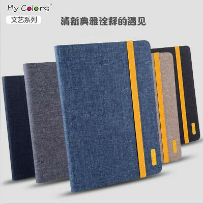 Luxury Cloth Pattern Leather Magnetic Cover Case For New iPad 2 3 4 Air Mini Pro