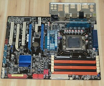ASUS P6T SE Motherboard LGA1366 Chipset Intel X58 with I/O adaptation shield