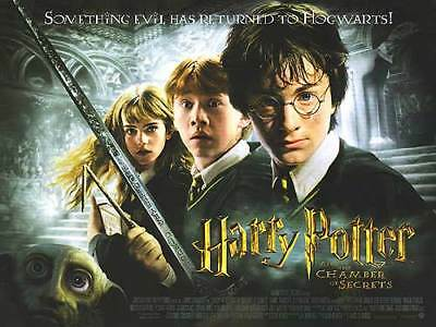 "Harry Potter and the Chamber of Secrets ORIGINAL UK MINI CINEMA POSTER (12""x16"")"
