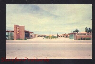 Tucumcari New Mexico Route 66 Town House Motel Aaa Vintage Postcard N.m.