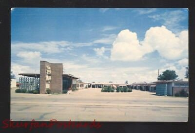 Tucumcari New Mexico Route 66 Town House Motel Aaa Old Advertising Postcard