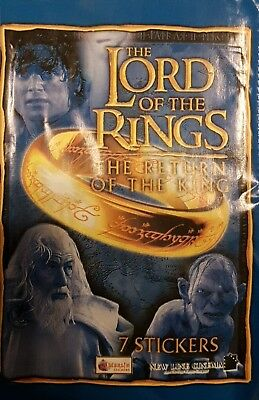 Lord Of The Rings R.o.t.k. X5O Loose Stickers