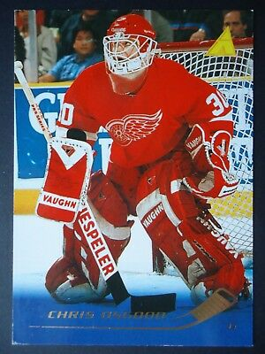 NHL 160 Chris Osgood Detroit Red Wings Pinnacle # 1995-96
