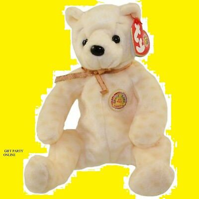 104eb8145c0 TY Beanie Baby - POPCORN the Bear BBOM October 2003 collectible toy