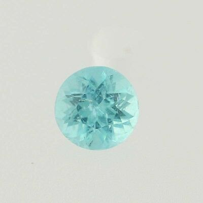 .18ct Loose Apatite Gemstone - Round Cut Greenish Blue Solitaire