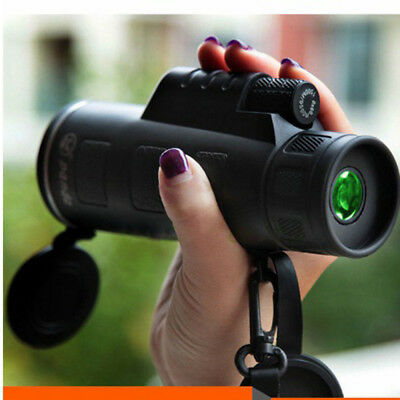 40X60 *Focus Zoom Portable HD Optics Lens Hiking Monocular Telescope