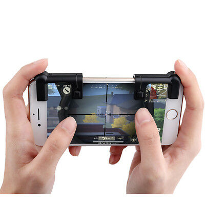 PUBG Shooter Controller Mobile Gaming Trigger Fire Button Handle L1R1 for iPhone