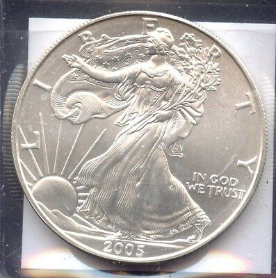 Estados Unidos, Moneda, Liberty Eagle, One Dollar, 2005, Coin Silver Onza Usa