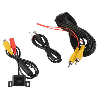 Mini Wired Auto Rear View CCD Wide Angle Camera Reverse Backup Parking MA1174