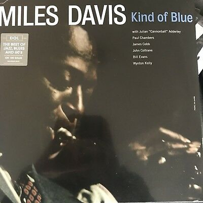 Miles Davis 'Kind Of Blue Lp' Black 180 G Vinyl Lp - New + Sealed