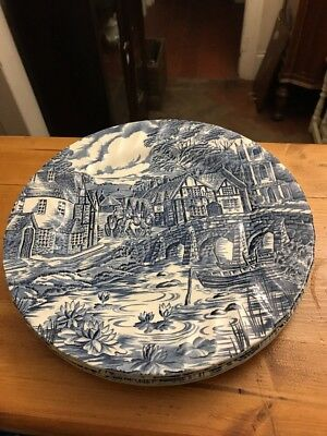 Alfred Meakin 4 Large 25cm Dinner Plates The Post House & ALFRED MEAKIN 4 Large 25cm Dinner Plates The Post House - £26.99 ...