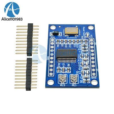 AD9850 125MHz DDS Signal Generator Module 0-40MHz 2 Sine/2 Square Wave Output