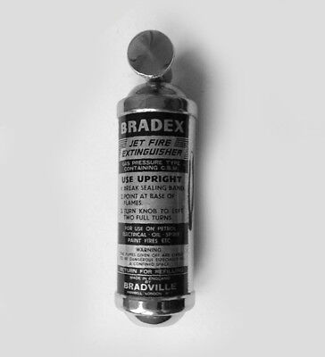 BRADEX Fire Extinguisher sticker label decal