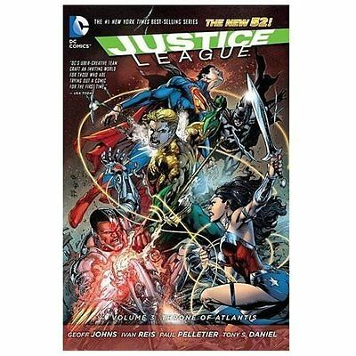 Justice League Vol. 3: Throne of Atlantis [The New 52]  VeryGood