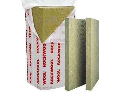 rockwool rwa 45 acoustic/fire/thermal  slab 50 mm 6.48 m2 each pack