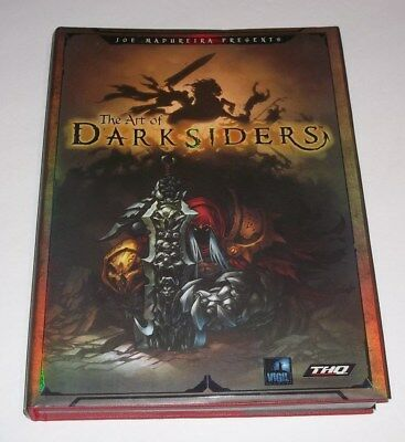 Joe Madureira Presents The Art of the Darksiders HC Book Signed Limited Edition