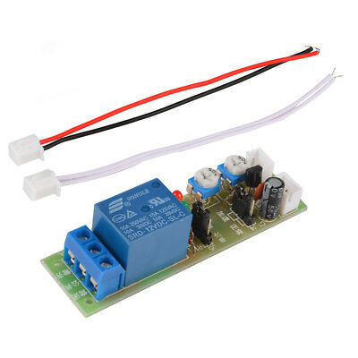 DC 12V Infinite Loop Cycle Timing Timer Time Delay Relay ON OFF Module TE678
