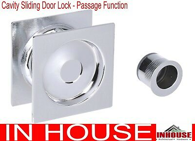 Cavity Sliding Door Lock Diamond Turn Privacy Function Sq